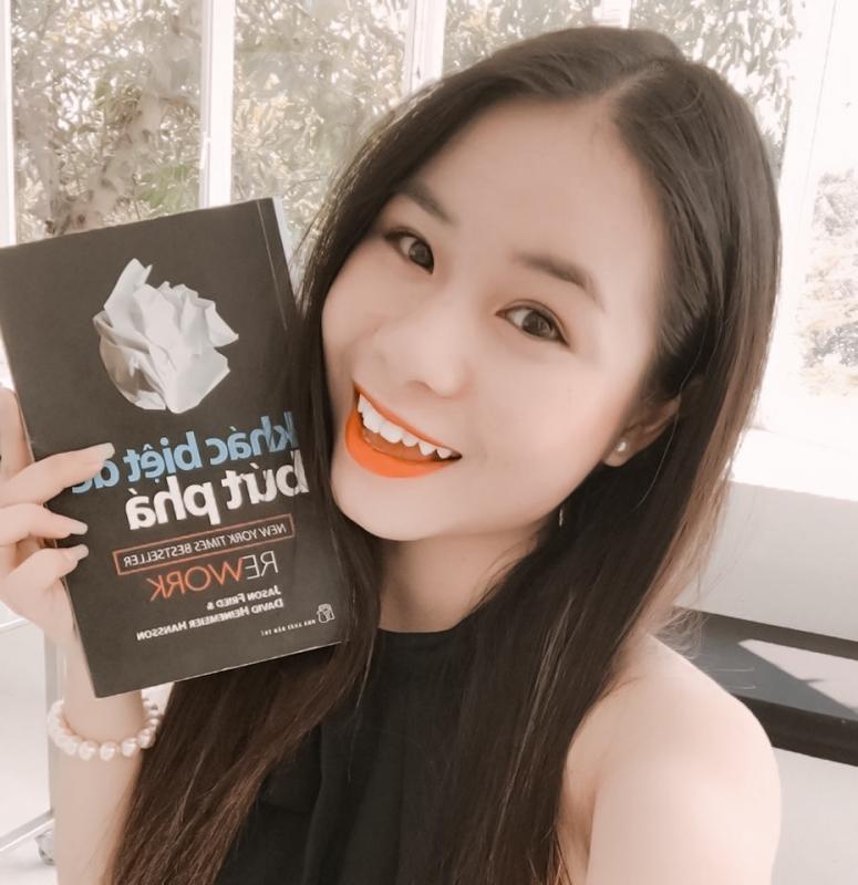 """BOOK REVIEW: NGHĨ ĐƠN GIẢN, LÀM TINH GỌN CÙNG """"REWORK"""" I Dreamiie Than 5"""